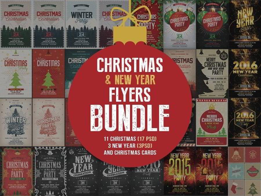25-christmas-flyers-bundle