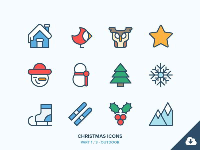 christmas-icons-freebie-13-outdoor-by-benjamin-bely