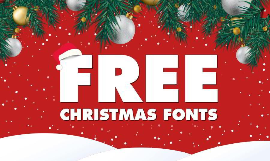 free-christmas-fonts-banner