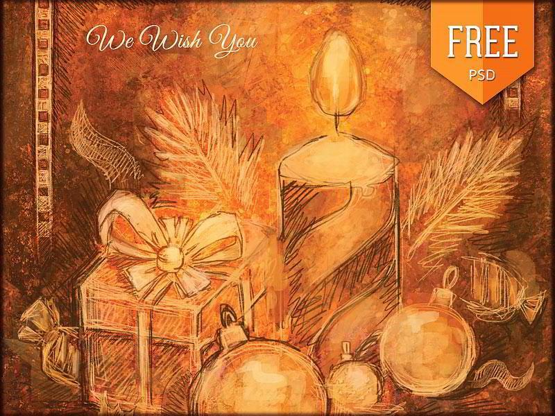 free-handmade-retro-christmas-flyer-vol-2