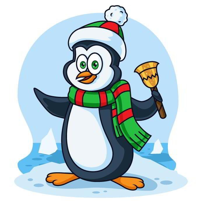 free-penguin-illustration