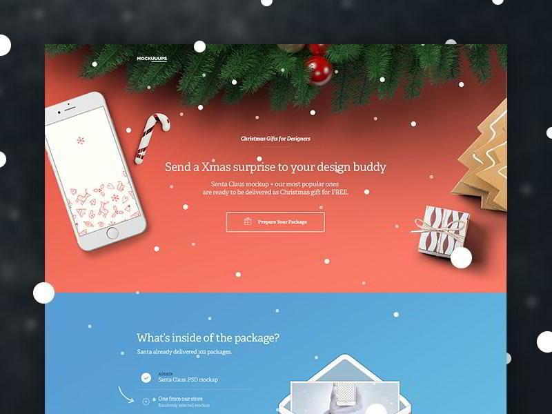 christmas website