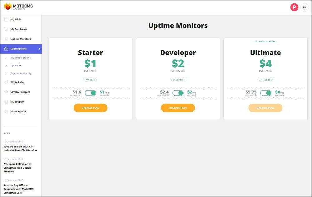 Motocms Uptime Monitoring 3 Arguments To Subscribe