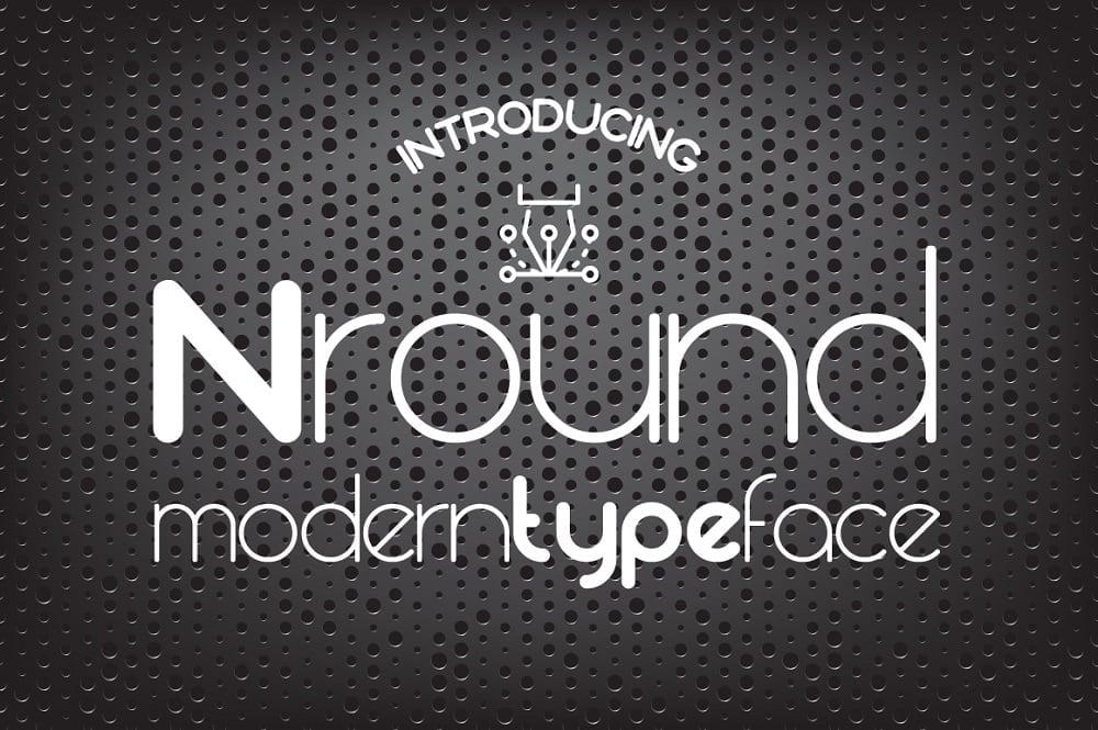 Nround Font