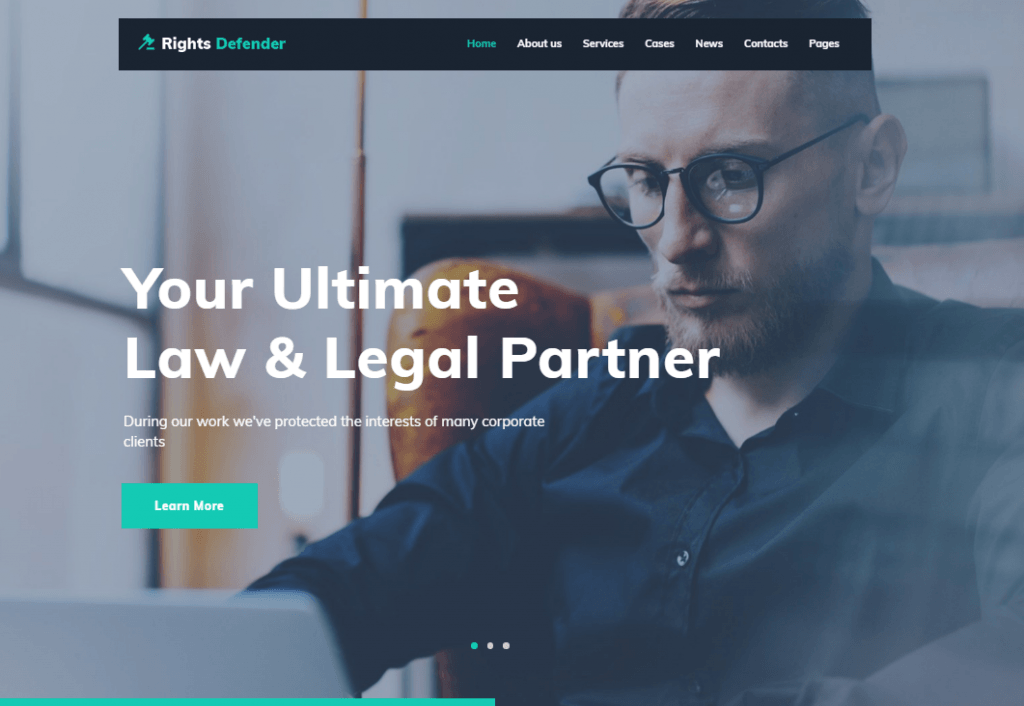 Rights Defender WordPress Theme