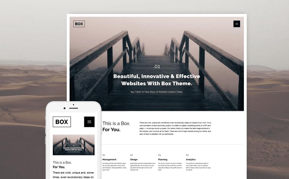 WordPress Portfolio Themes 2017