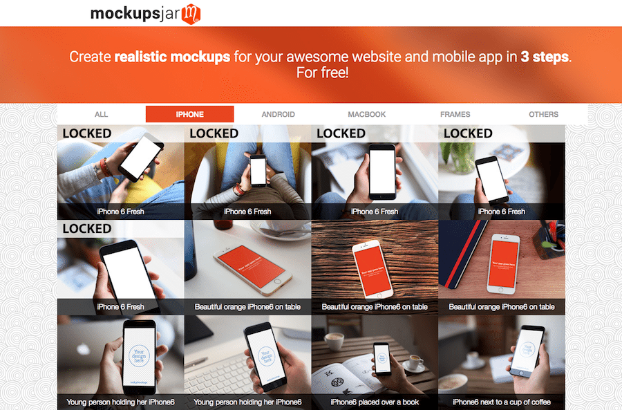 how to create mobile mockup photoshop