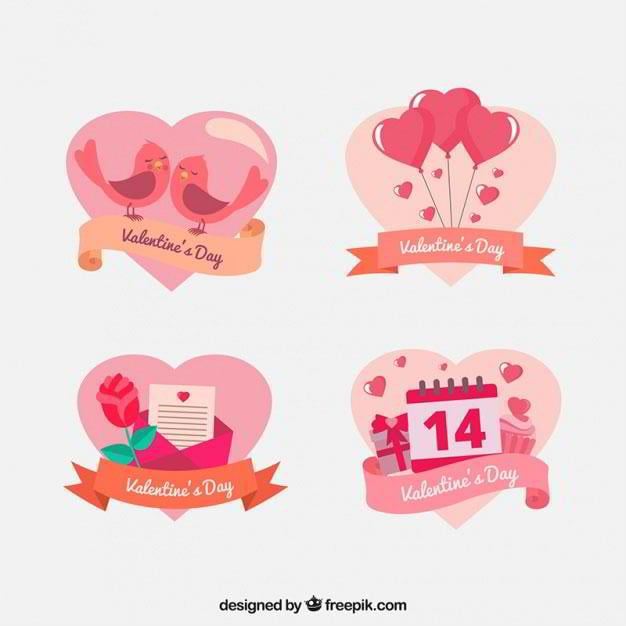 St. Valentine\'s Day Web Design Freebies for Sweet Declarations of Love