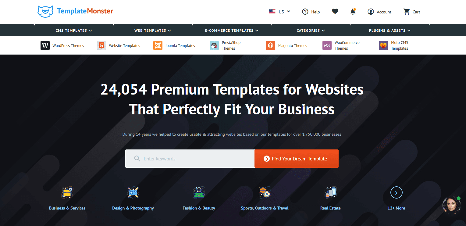 Templatemonster Offers One Of The Most Compeive Affiliate Programs In WordPress And Web Design Niche They Offer 26 000 Products All Types