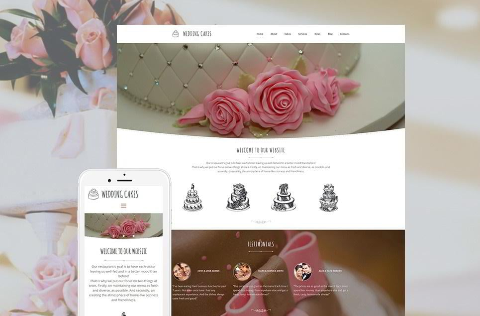 create-a-wedding-website-catering
