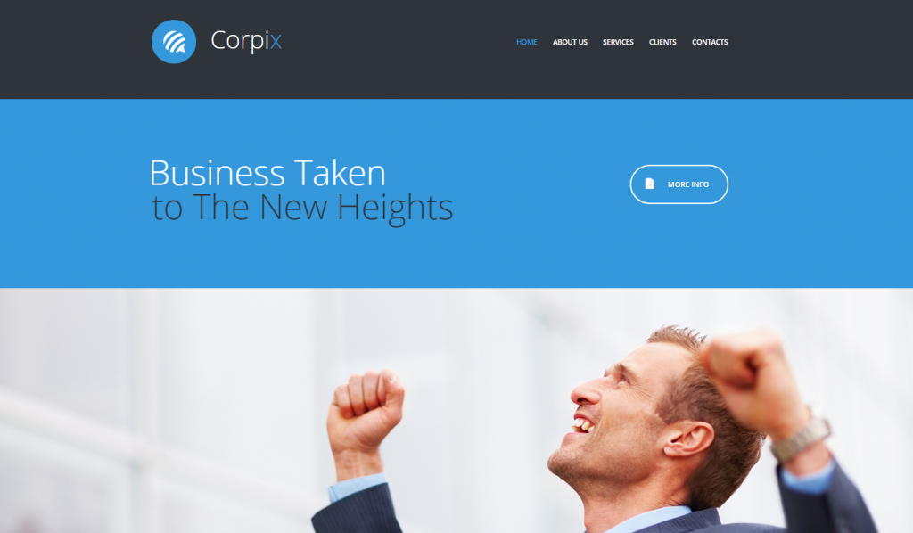 Corpix Website Template