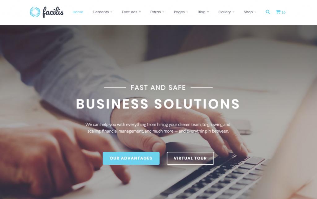 Facilis Website Template