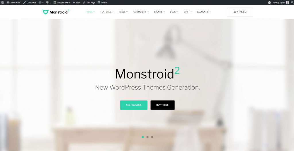 How to create a website in 2018 ultimate guide monsterpost once everything has been installed you will get a website that will look exactly like our demo unit you will have all the data imported there solutioingenieria Choice Image