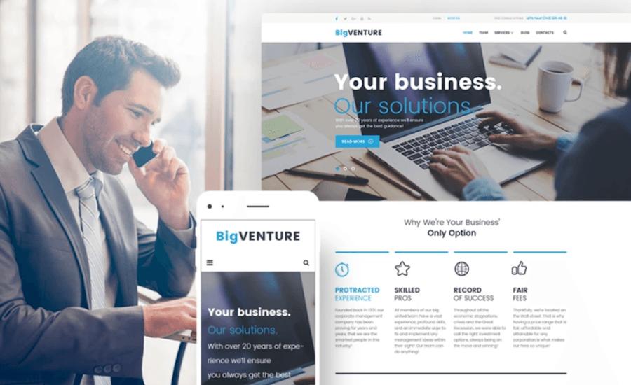 wordpress business templates