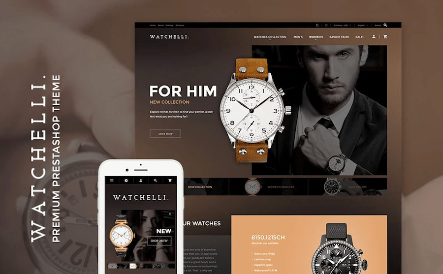 fashion designer prestashop templates
