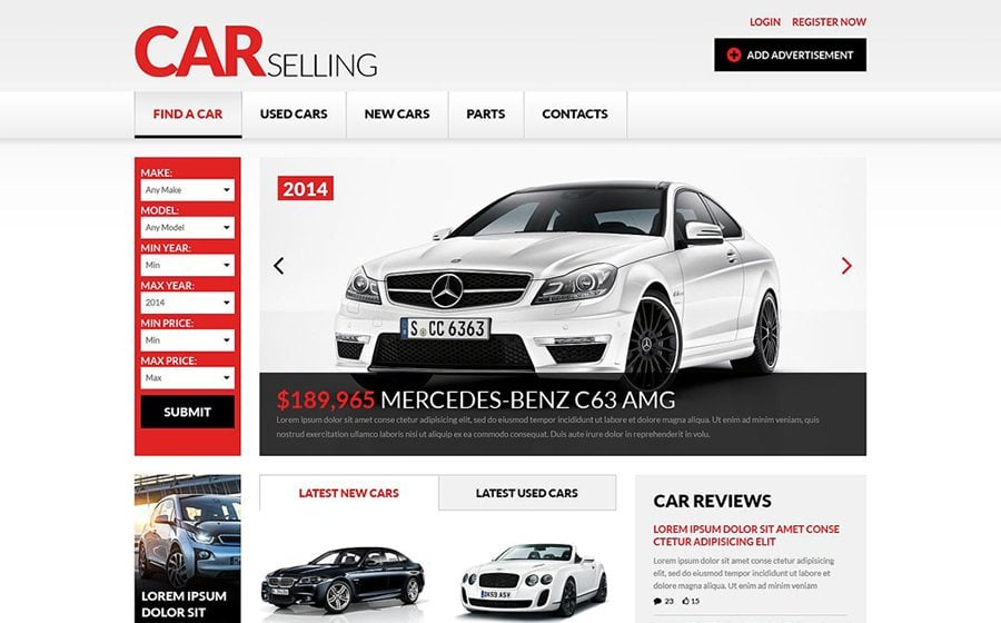 Car Dealer Website Templates to Quickly Start Your Business