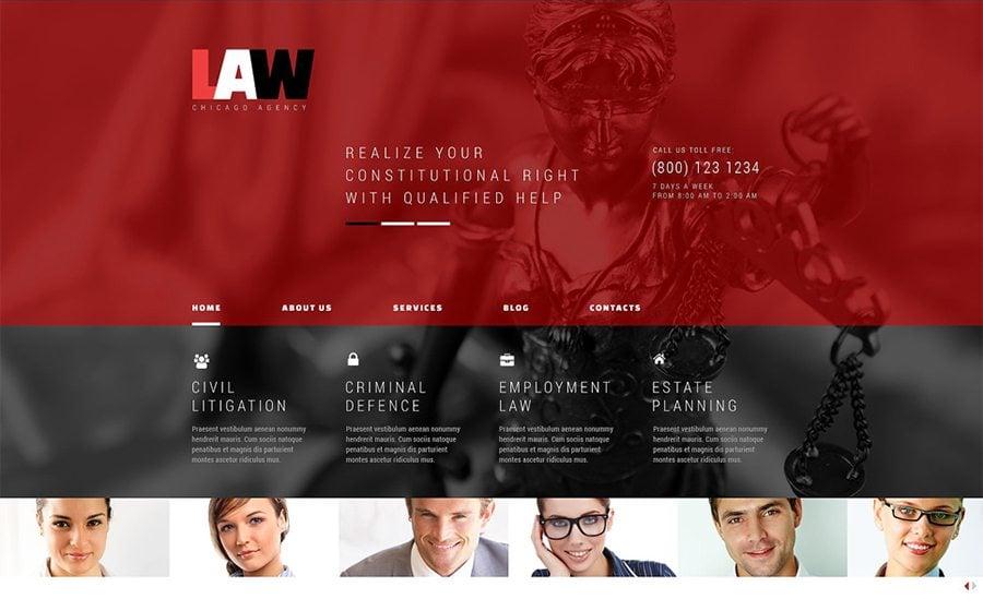 Law WordPress Theme