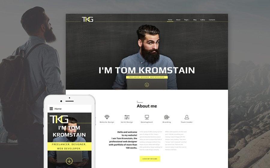 TKG Responsive Joomla Template