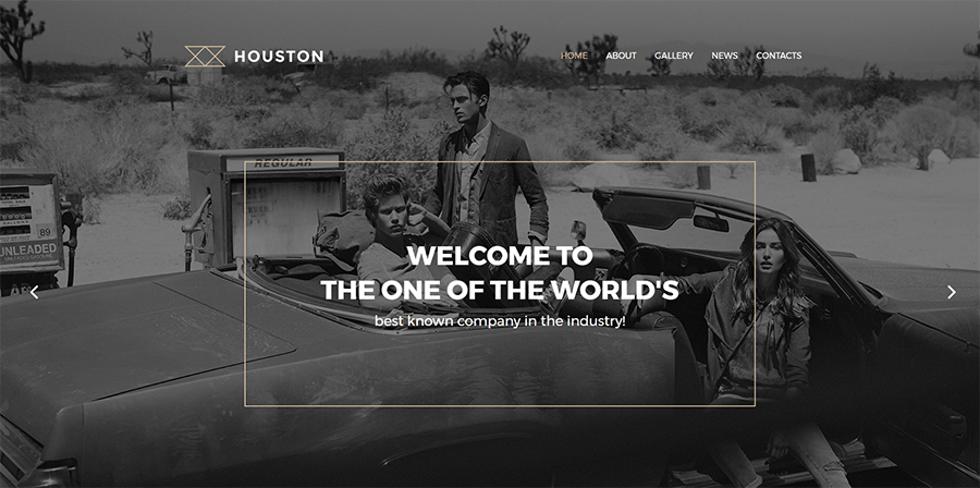 Houston Photo Gallery WordPress Theme
