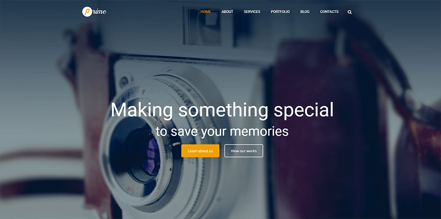 Stock Image Responsive WordPress Theme
