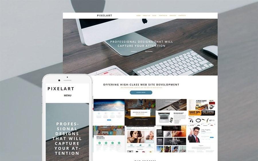 Develop A Professional Portfolio With The Help Of 15 WordPress