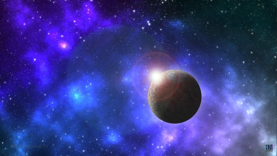 how to create a realistic space background in photoshop
