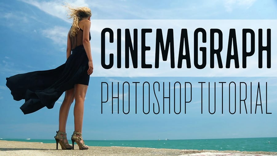 how to create a cinemagraph in photoshop