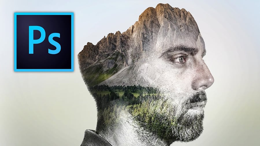 how to create double exposure effect