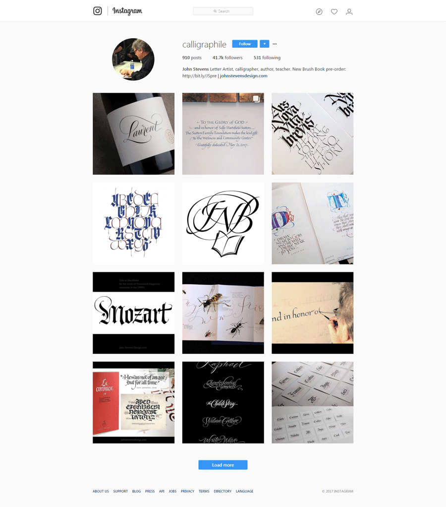 Famous Calligraphers To Follow On Instagram  Monsterpost