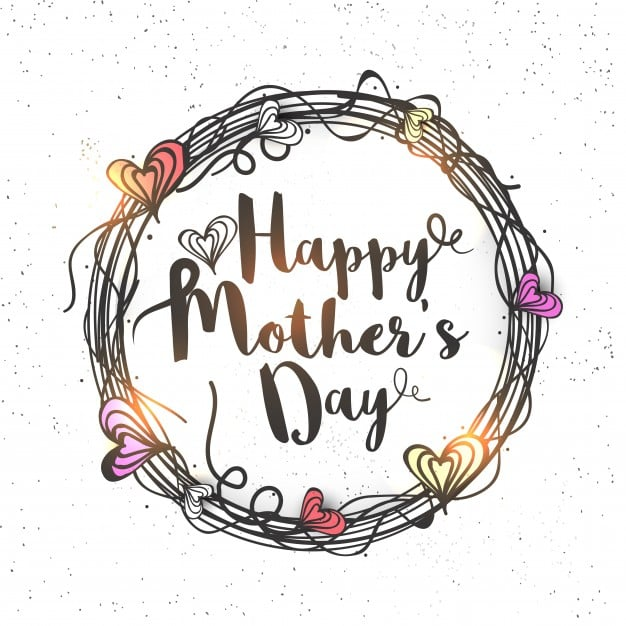 Freebie Mothers Day Flyer Template Design: Freepik And Flaticon's Beautiful Mother's Day Themed