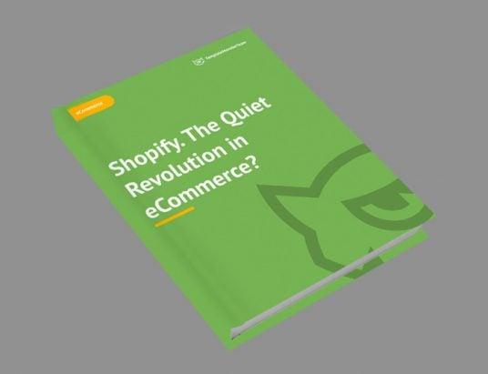 Shopify. The Quiet Revolution in eCommerce