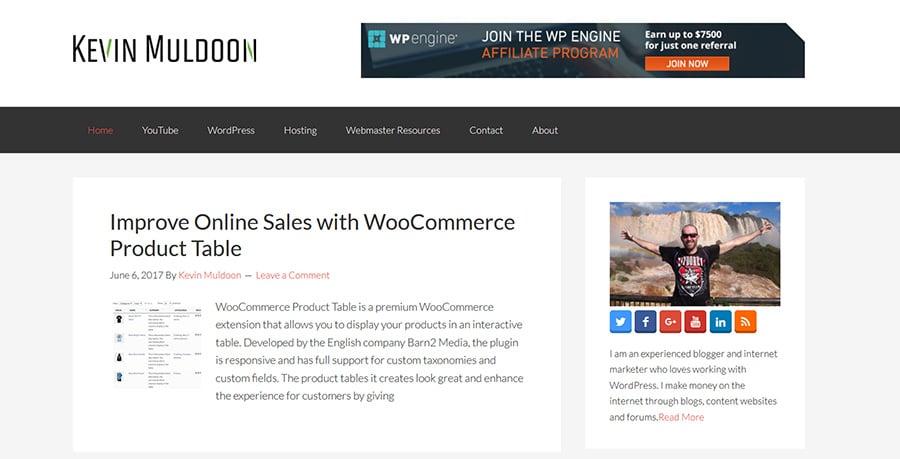 WordPress Blog Kevin Muldoon
