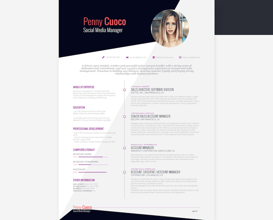 Writing the perfect resume