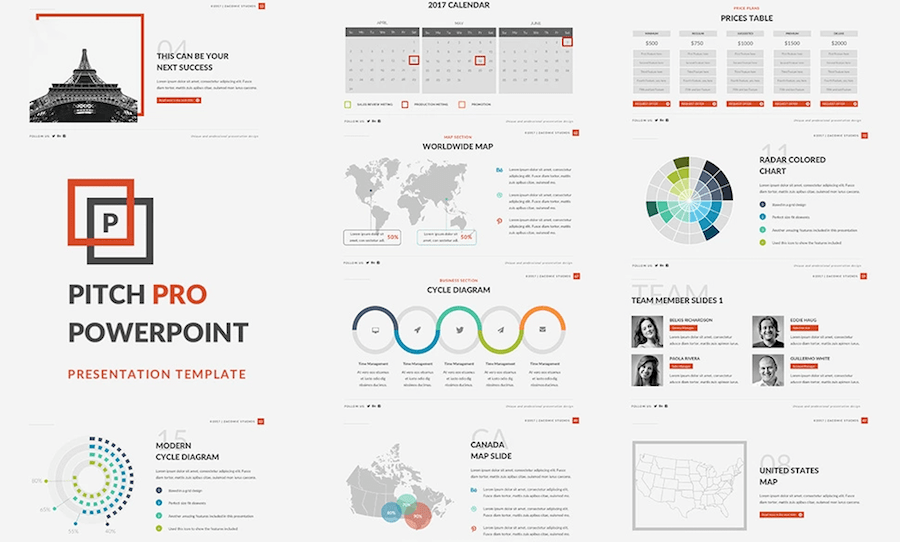 best powerpoint templates for academic presentations - professional powerpoint templates to use in 2018