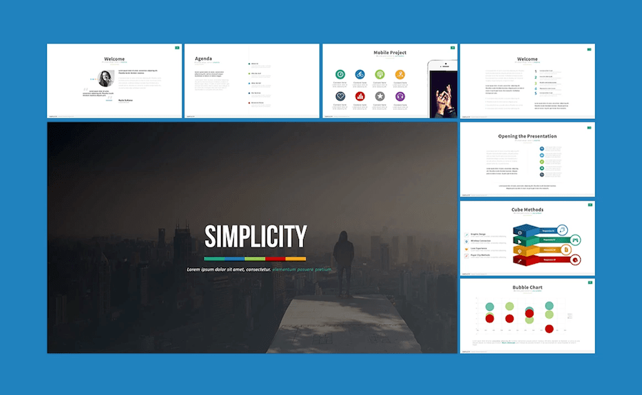 professional powerpoint templates to use in 2018, Presentation templates