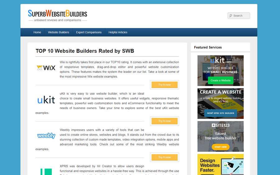 SuperbWebsiteBuilders.com