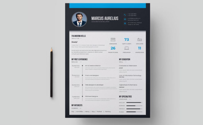 65 eye catching cv templates for ms word free to download it may seem that all the professional resume templates look the same but look a little closer there is nothing more important than details and each of them maxwellsz