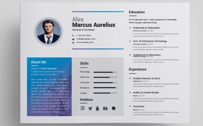 Marcus Resume Template