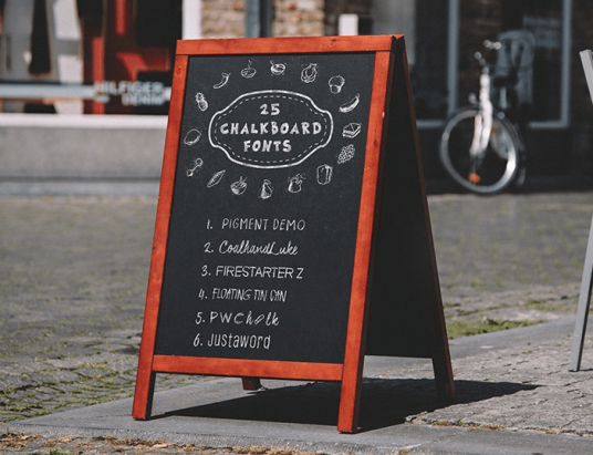 best chalkboard fonts