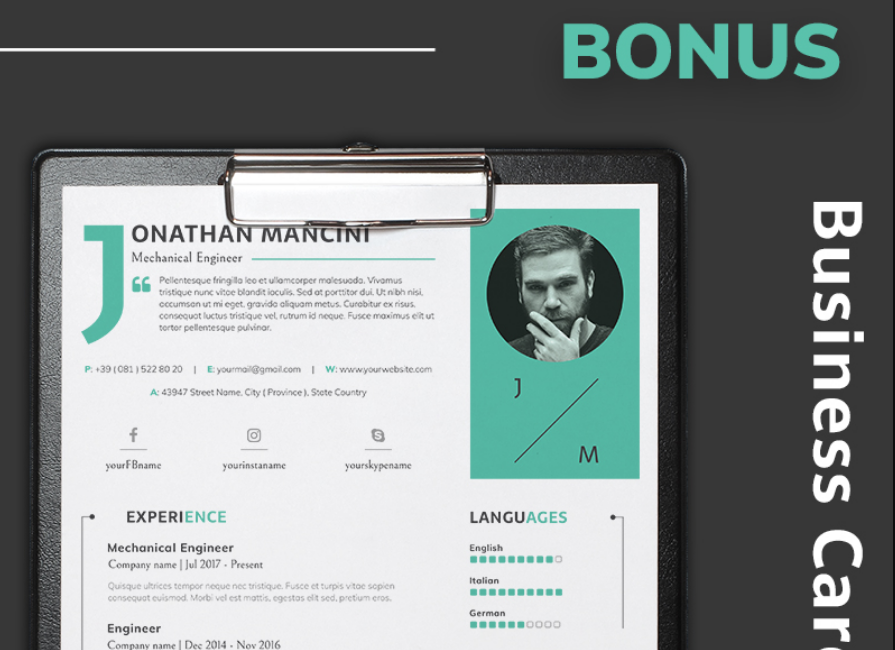40 best 2019s creative resumecv templates printable doc