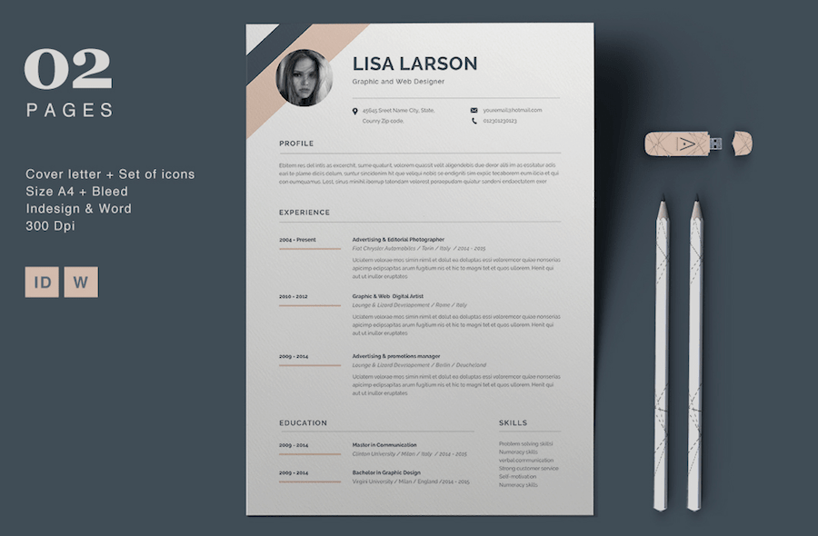 Catchy Resume Templates Zohre Horizonconsulting Co
