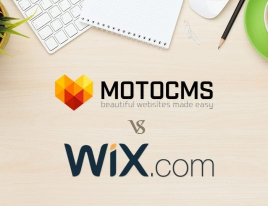 The MotoCMS vs Wix Website Creator Review - featured image