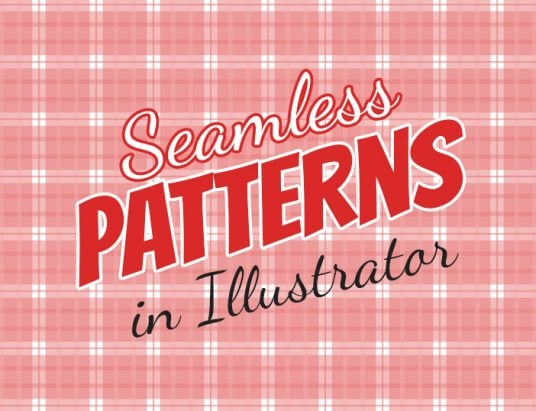 how to create seamless patterns in Illustrator