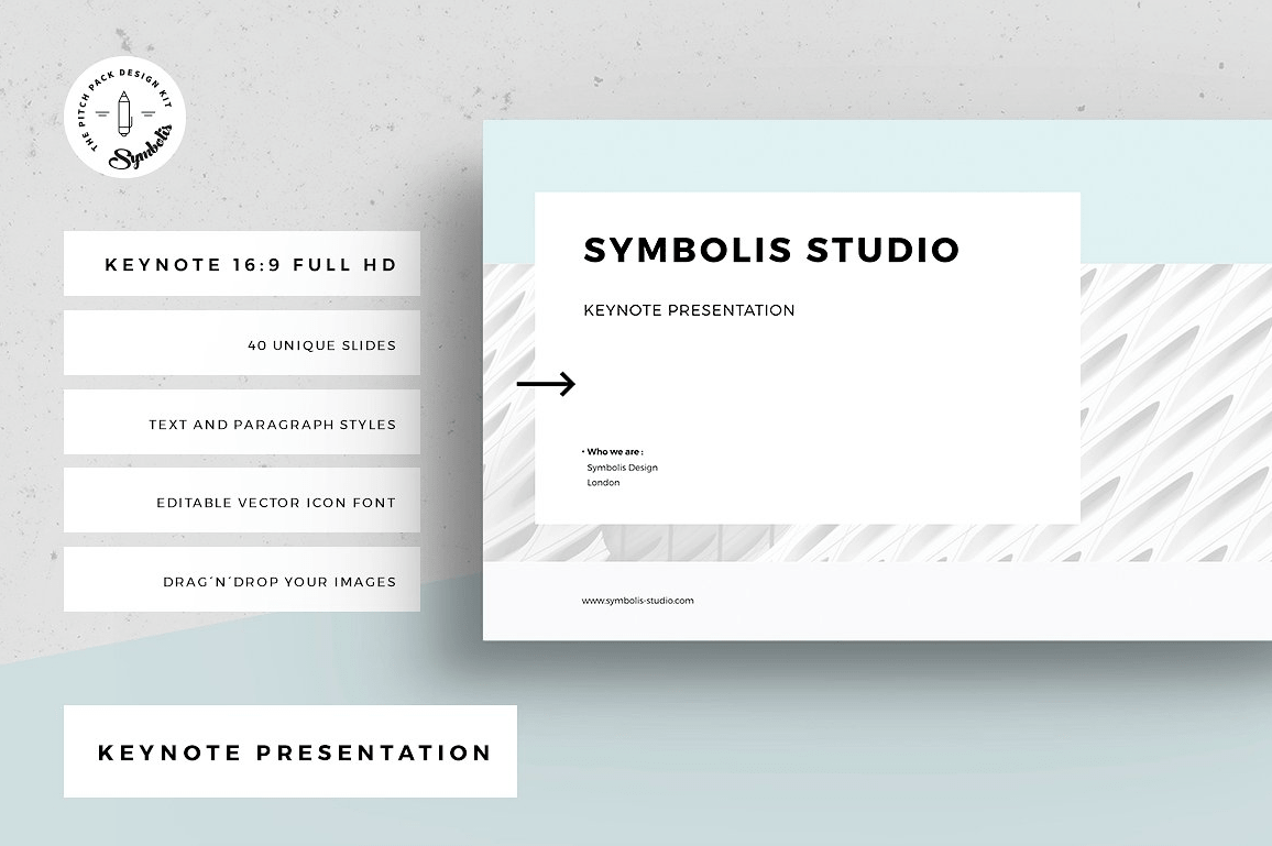 keynote templates to create a professional presentation
