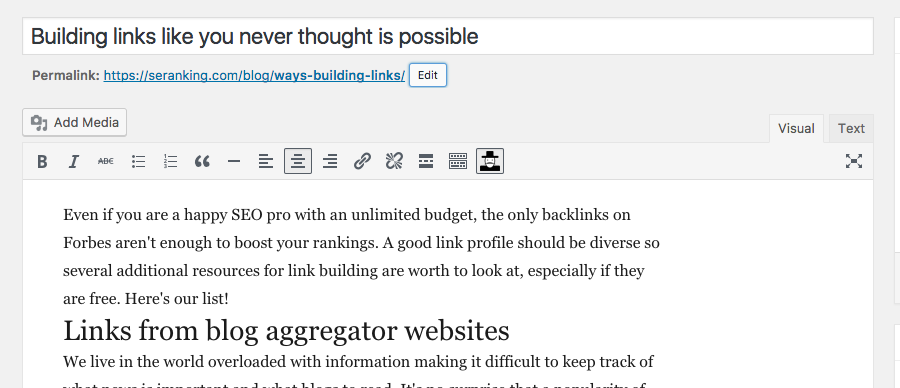 Your copywriter must see this: 5 rules for blog optimization (WordPress)