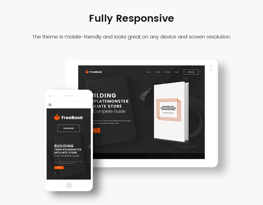 wordpress single page theme