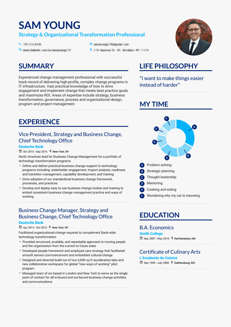 get your dream job with a professional cv design