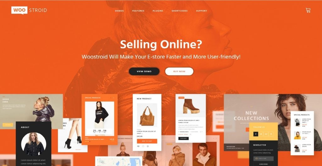 woostroid woocommerce theme