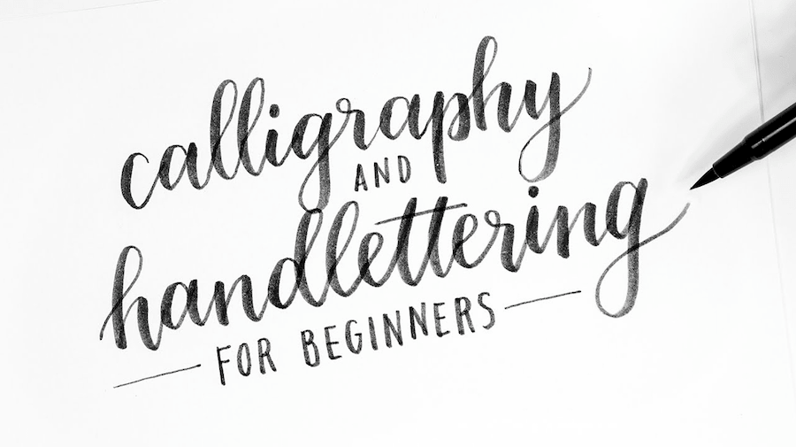 The ultimate hand lettering tutorial for designers