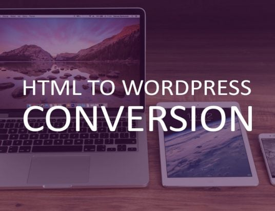 convert html site to wordpress theme